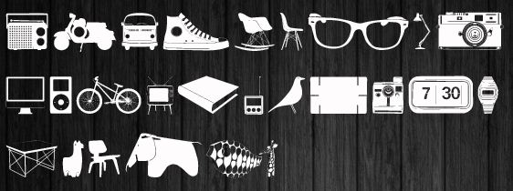 Font Symbol Gambar Dan Clip Art Untuk Designer